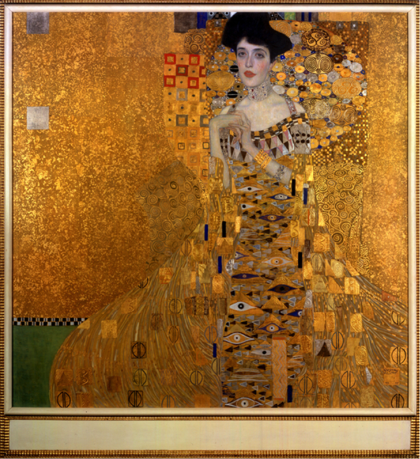 Gustav Klimt (1862-1918) Portrait of Adele Bloch-Bauer I, 1907 © 2016 Neue Galerie New York